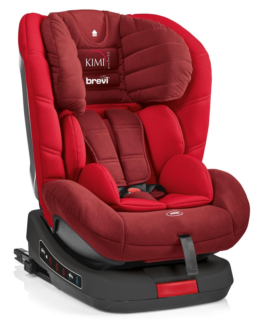 Silla de Auto Kimi Isofix Brevi Rojo