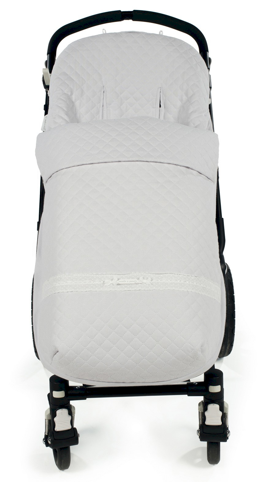 Fußsack für Kinderwagen Oxford Grey