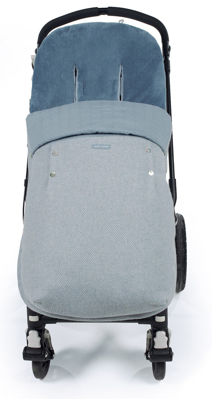 Pasito a Pasito Fußsack für Kinderwagen Blue
