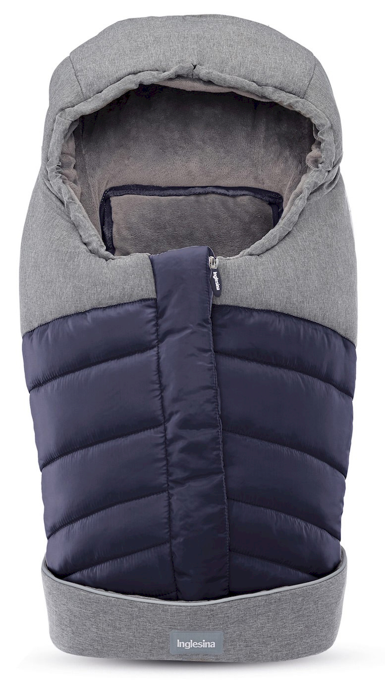 Newborn Winter Muff Navy