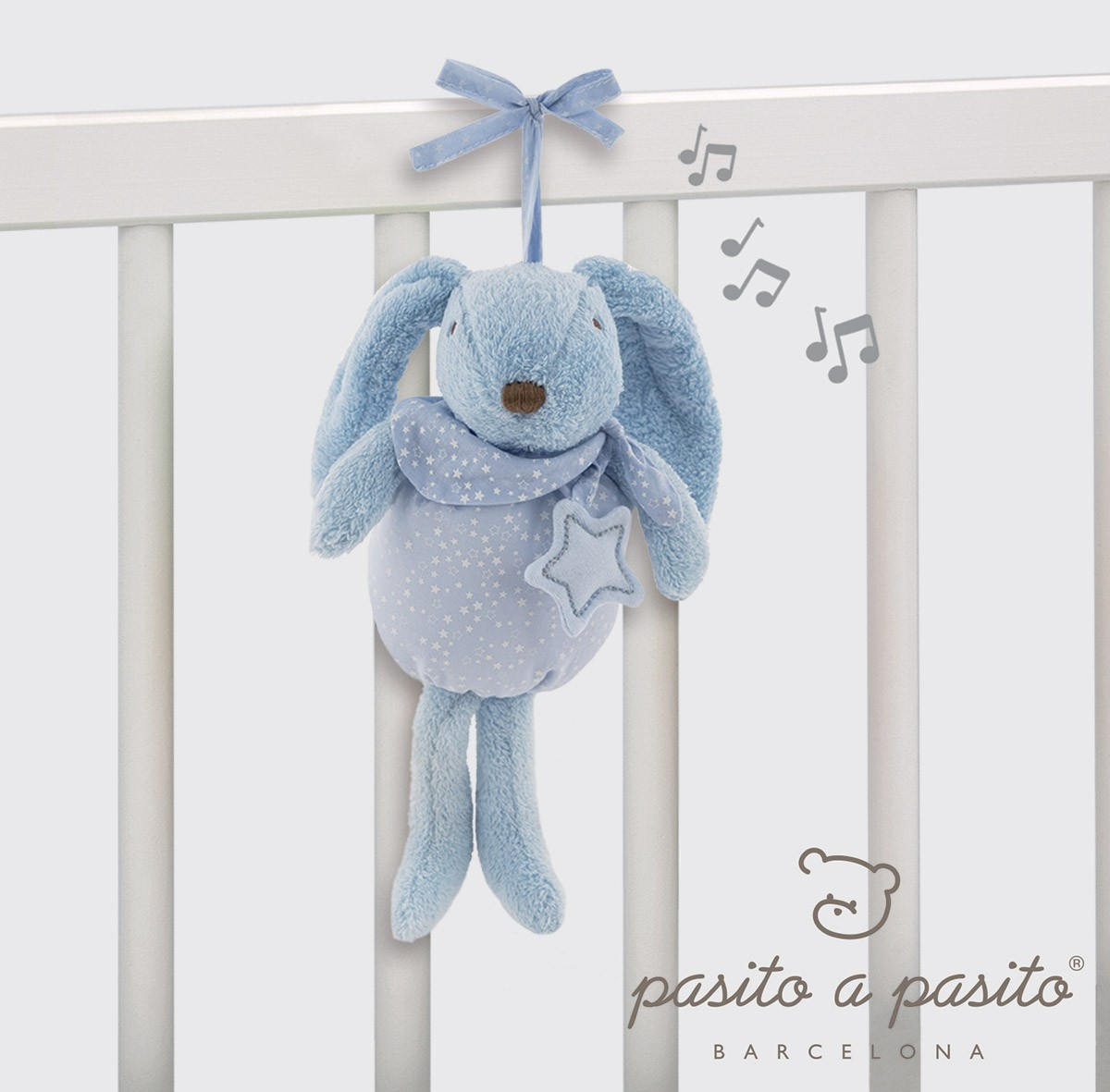 Coniglietto Musicale Azzurro