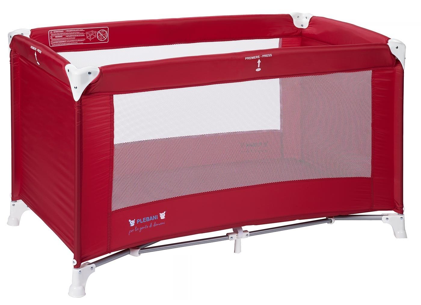 Lettino da campeggio Travel Rosso