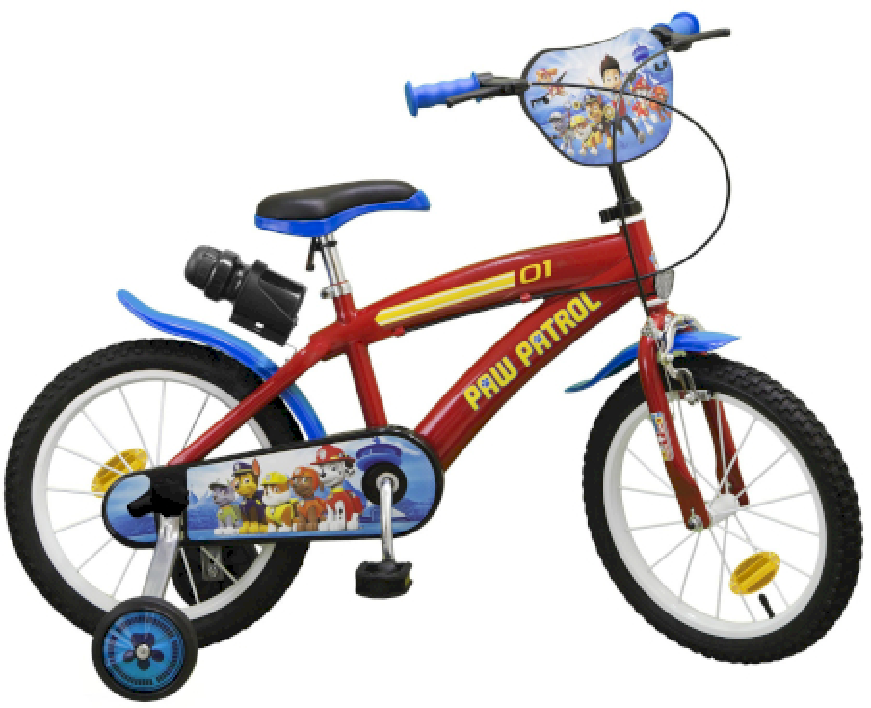 Bicicletta Paw Patrol 16