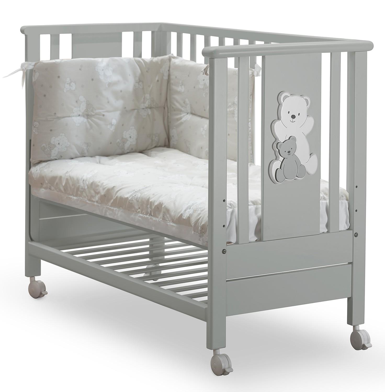 Kinderbett Insieme Perle Grau