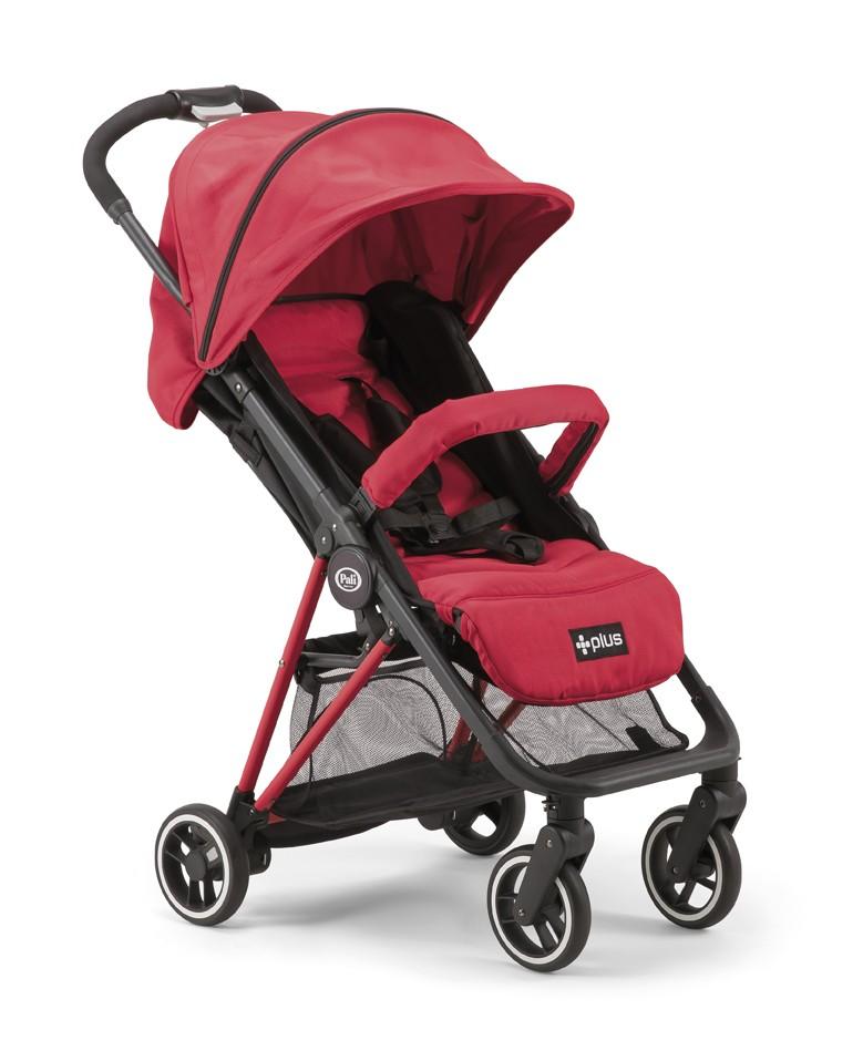 Pali Kinderwagen Plus Pure Red