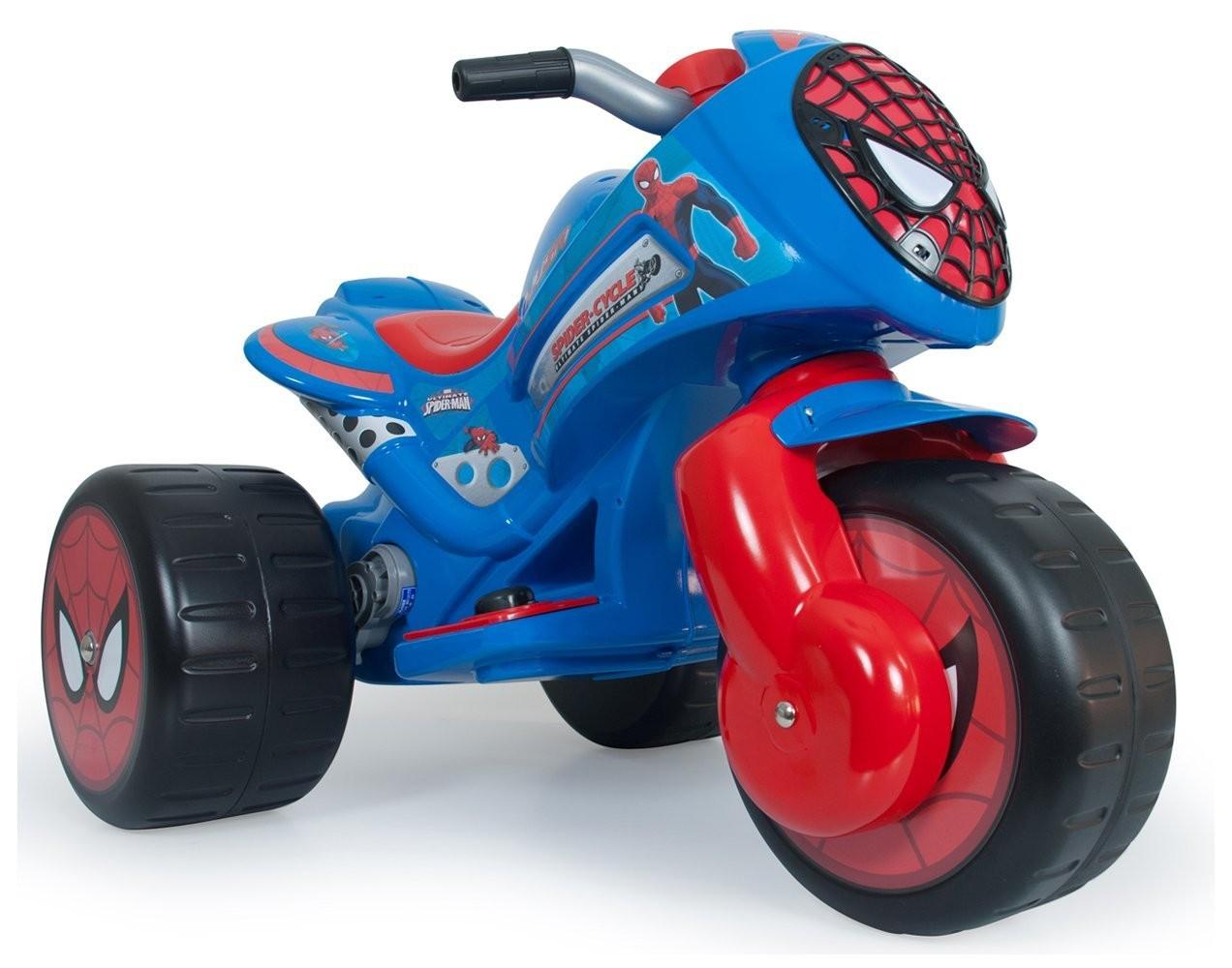 Moto Elettrica Spiderman
