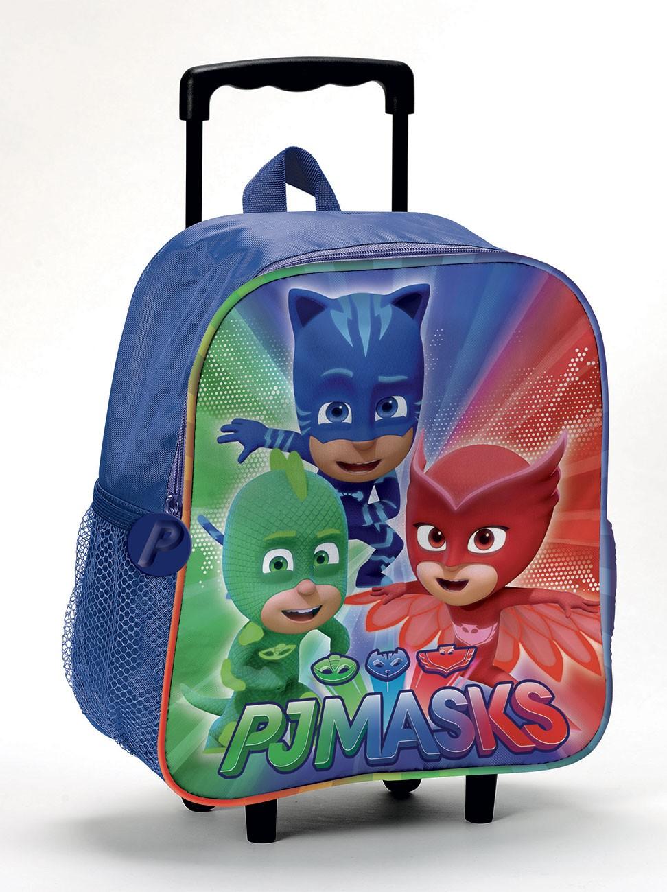 Zaino per Bambini Pj Mask Zaino Trolley