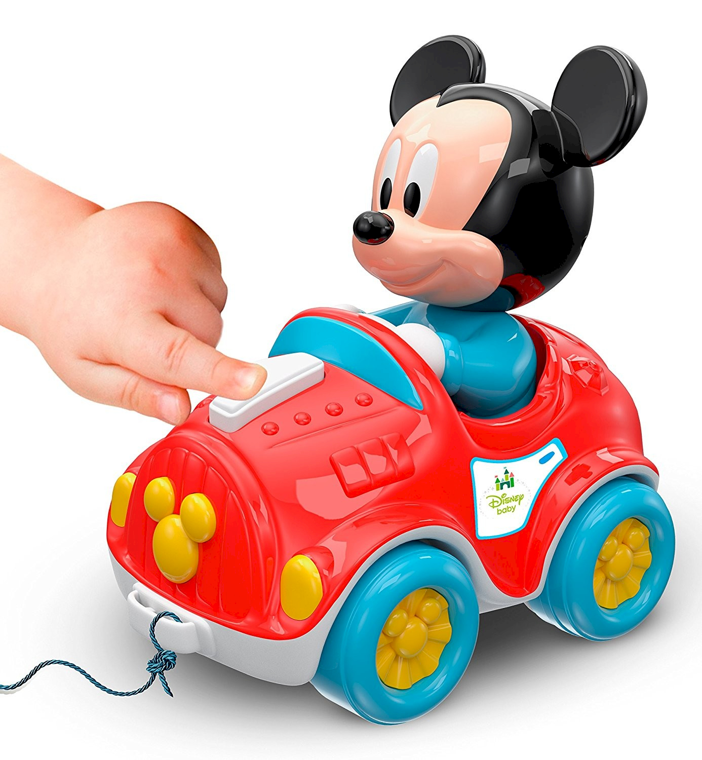 Clementoni Voiture Musicale Mickey Mouse