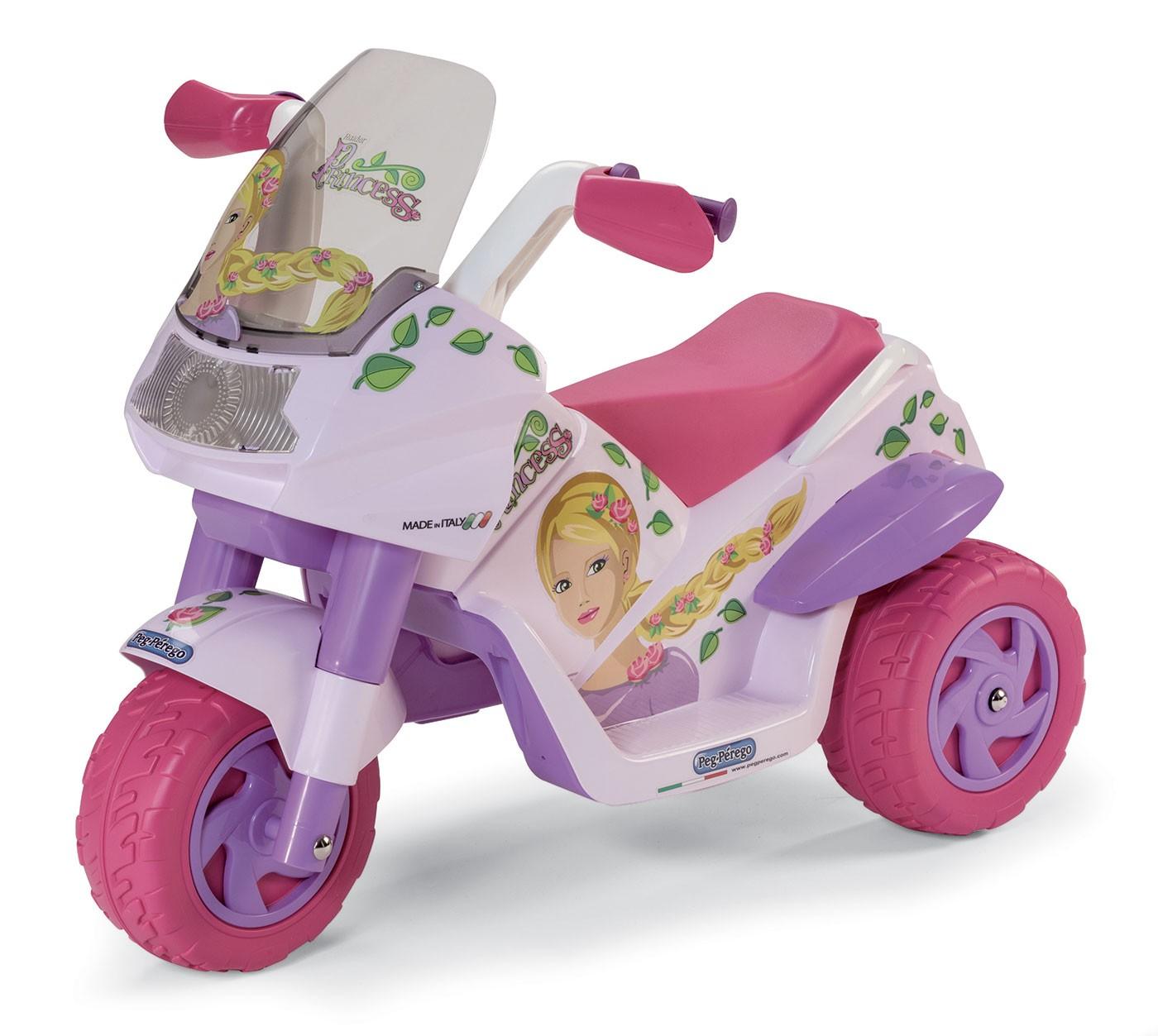Peg Perego Moto Électrique Rider Princess