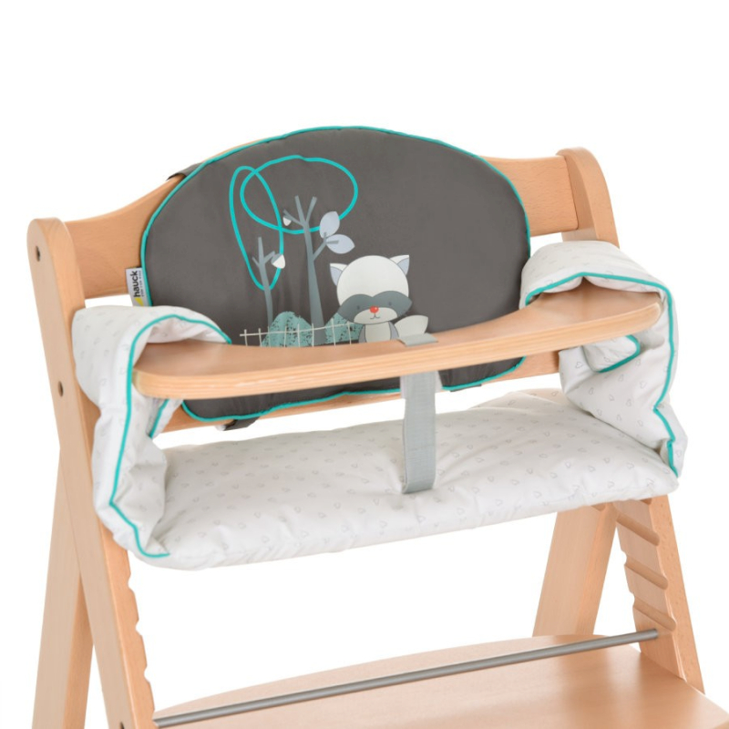 Coussin d'assise chaise haute Forest Fun