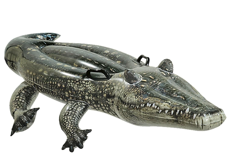 Materassino Alligatore Gonfiabile