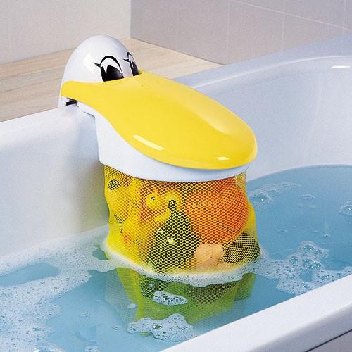 Portagiochi per vasca Pelly Fun