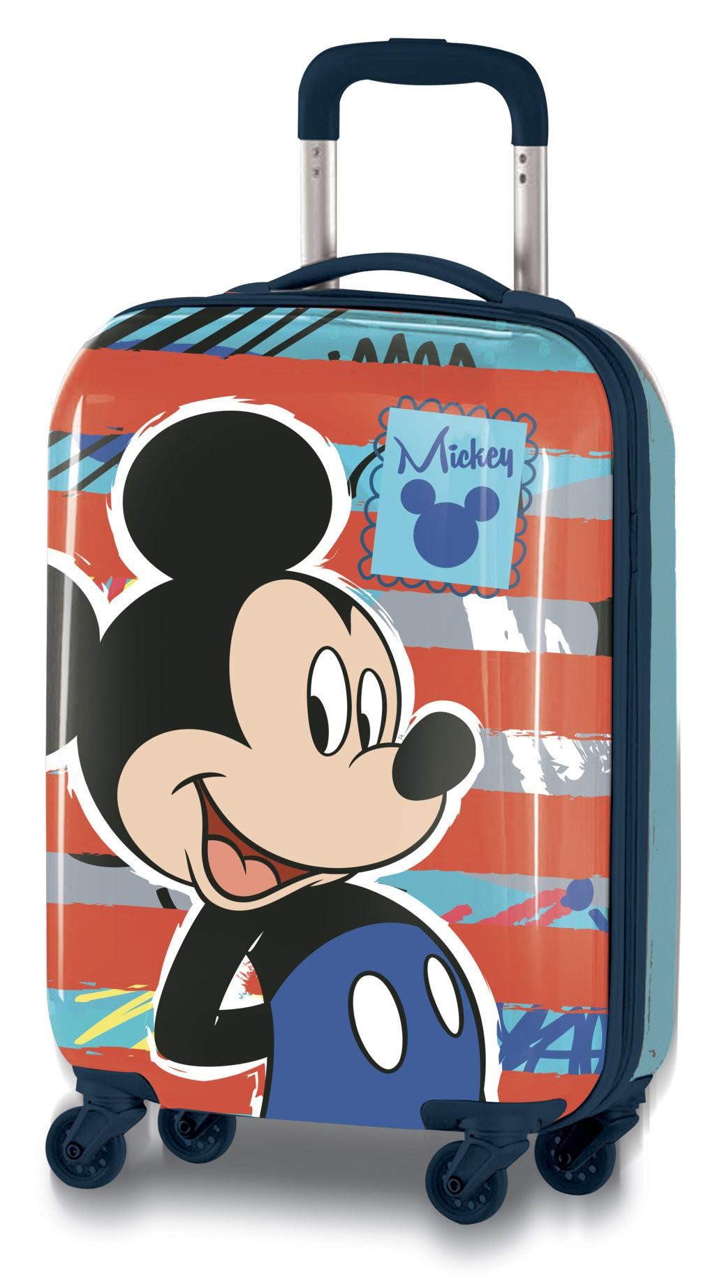 Rollkoffer Mickey Maus