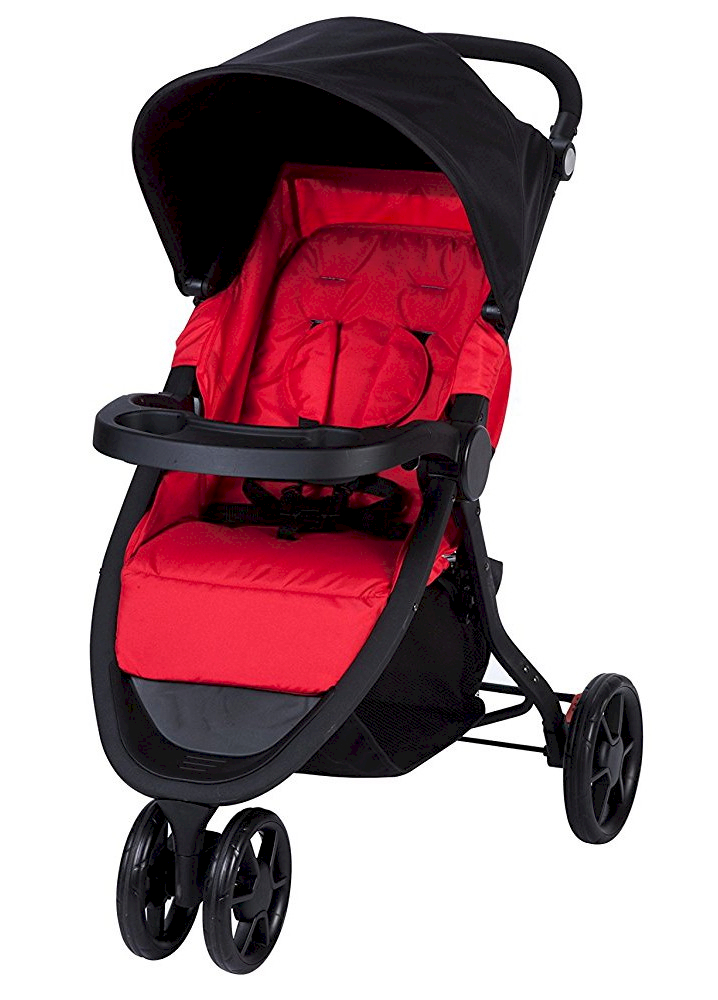 Poussette Urban Trek Rouge