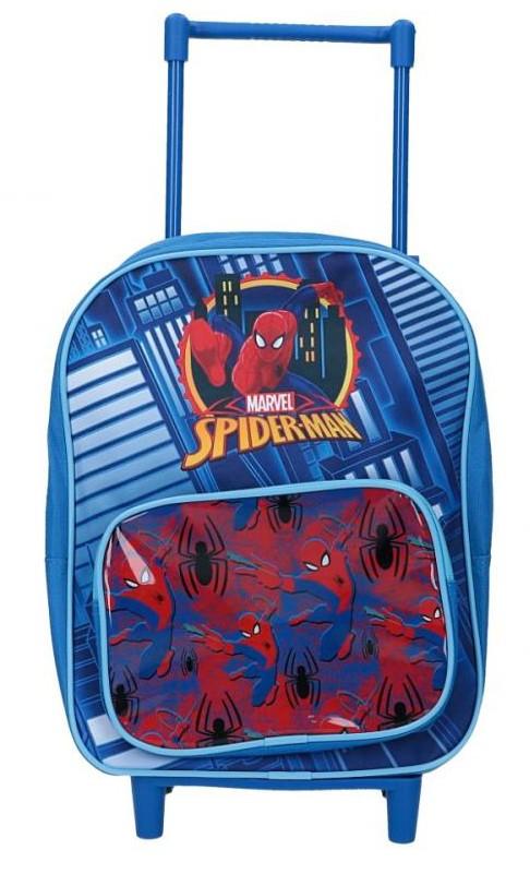 Mochila escolar con ruedas Spiderman