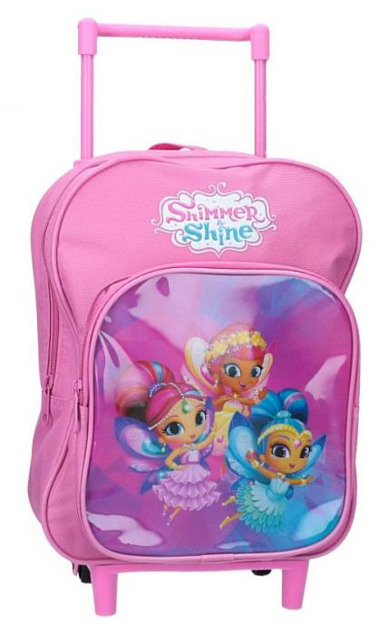 Cartable à roulettes Shimmer & Shine