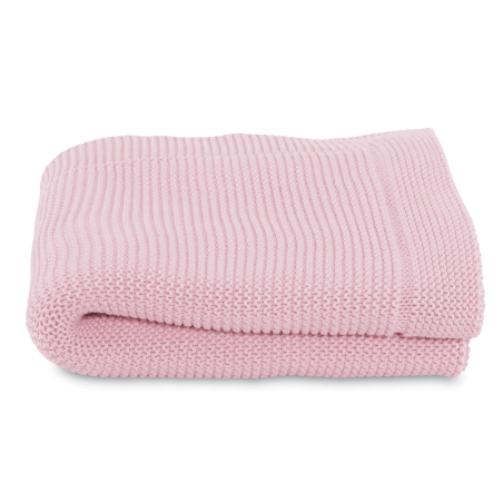 Chicco Couverture en Maille Tricot Miss Pink