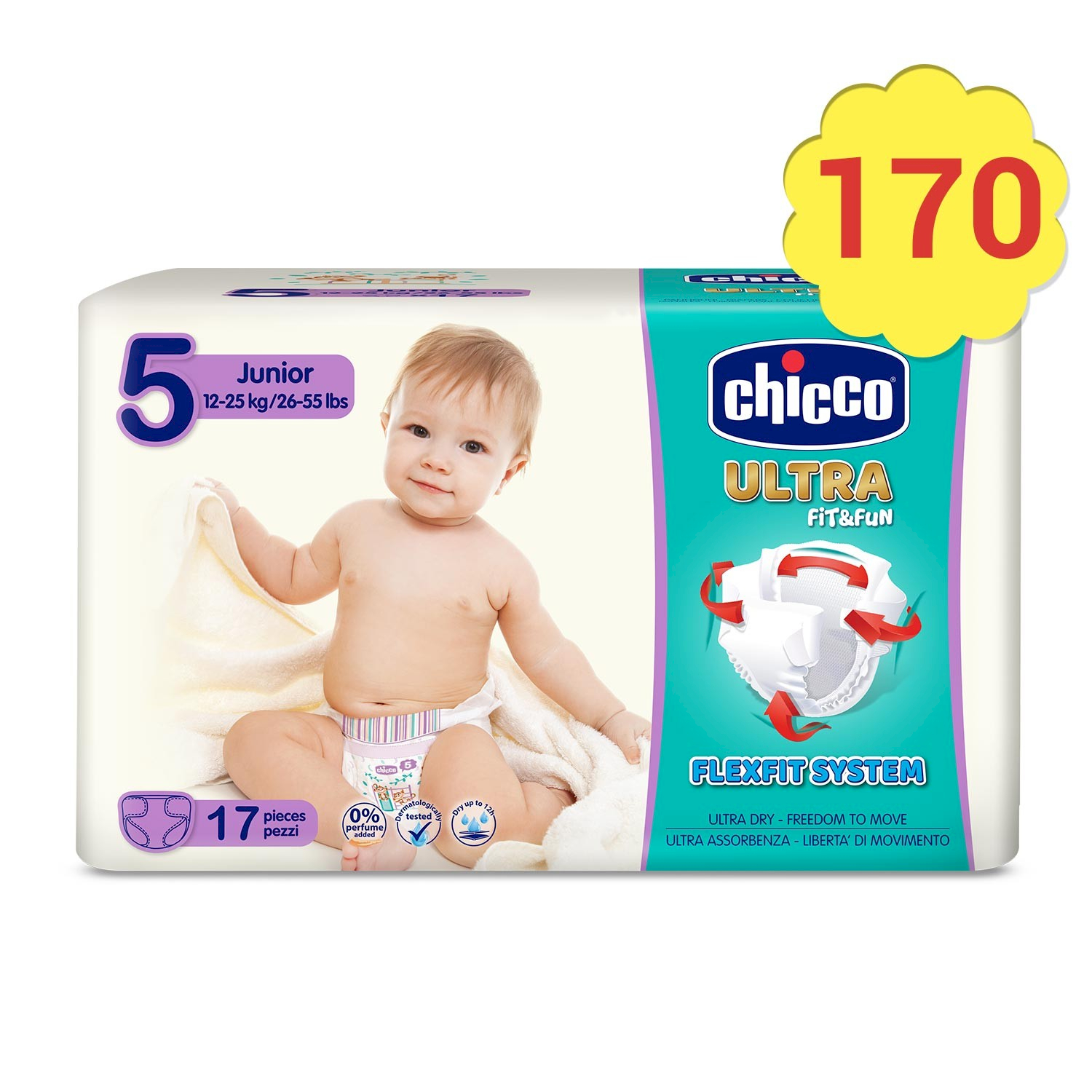 Chicco Couche Ultra Soft - Taille 5