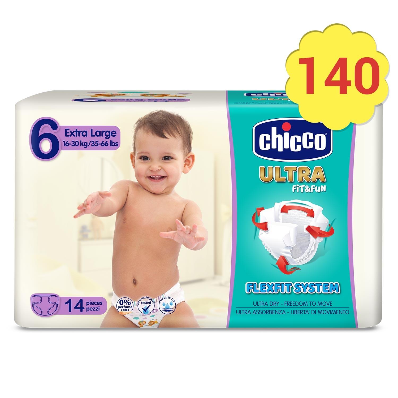 Pañales Fit&Fun Chicco - Talla 6