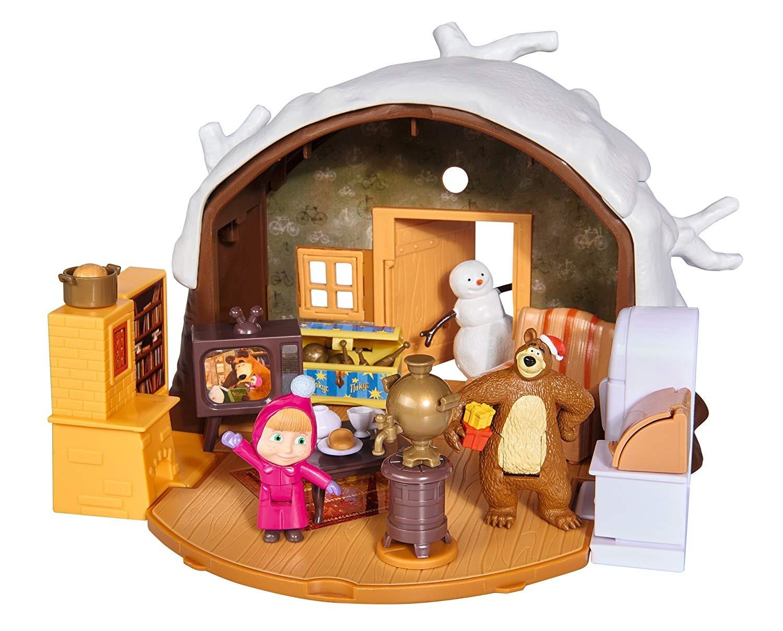 Masha Playset Casa Inverno