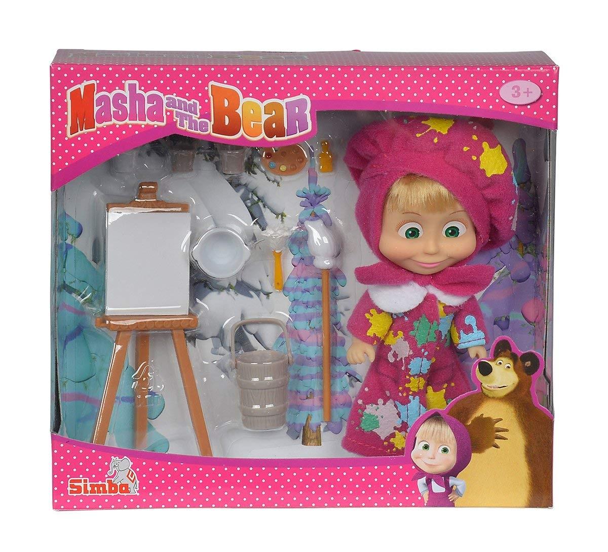 Bambola Masha Pittrice