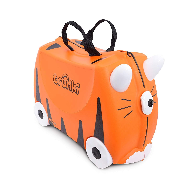 Trunki - La Valigia Cavalcabile Tiger Arancione