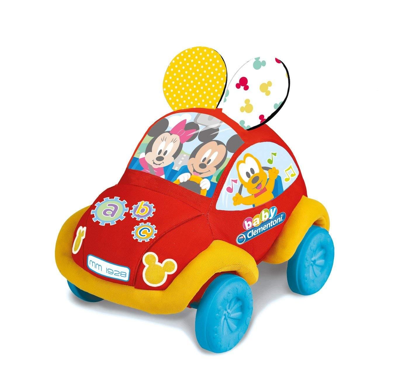 Disney Baby Macchinina Morbida Clementoni