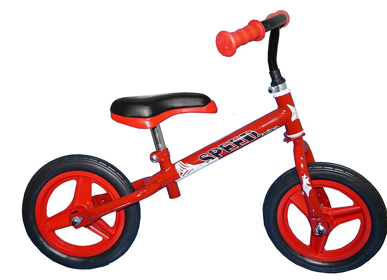 Bicicletta da Bambino Senza Pedali Speed Rossa