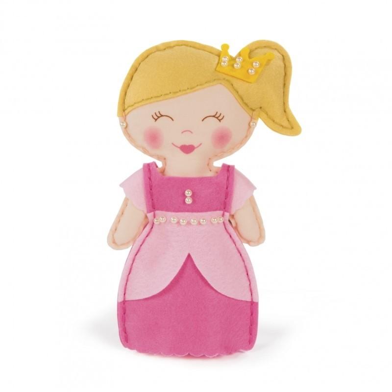 Kit Bambola Principessa da Cucire
