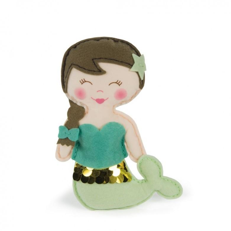 Kit Bambola Sirena da Cucire