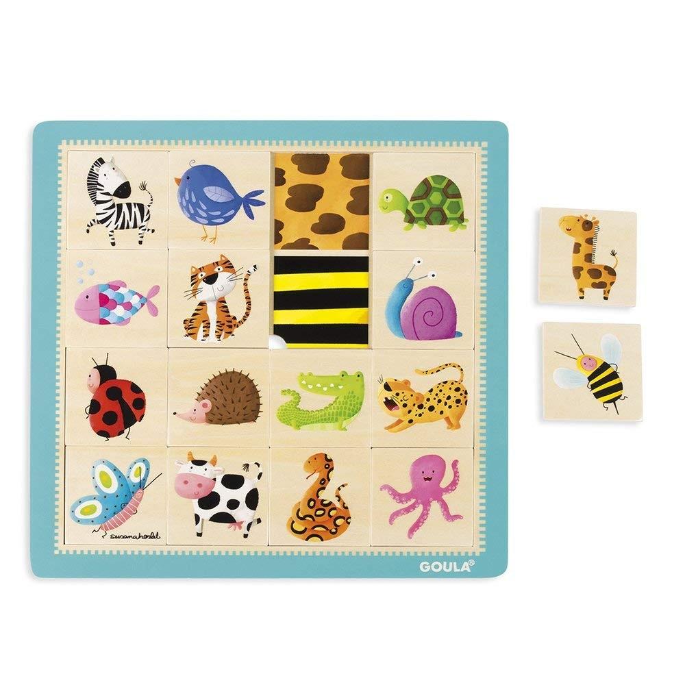 Puzzle in legno Animali