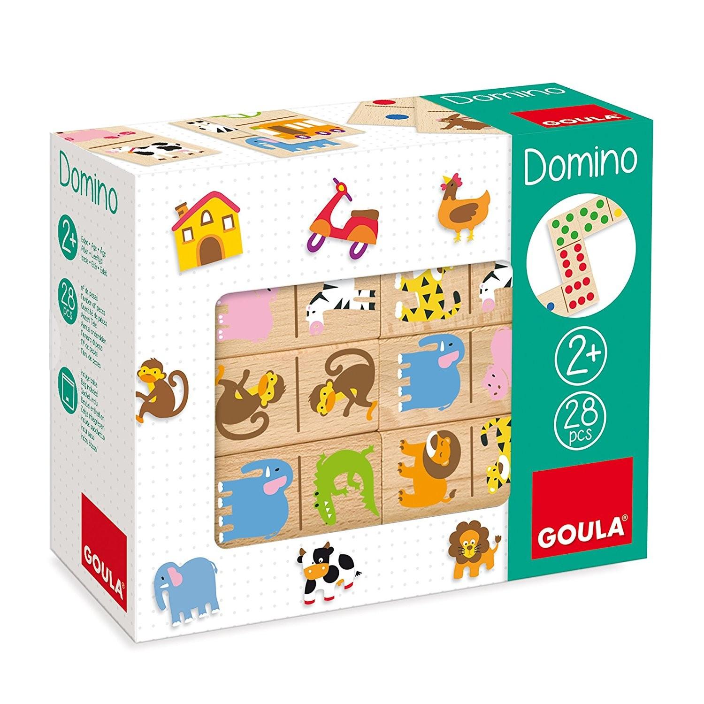 Gioco Domino in legno - Zoo