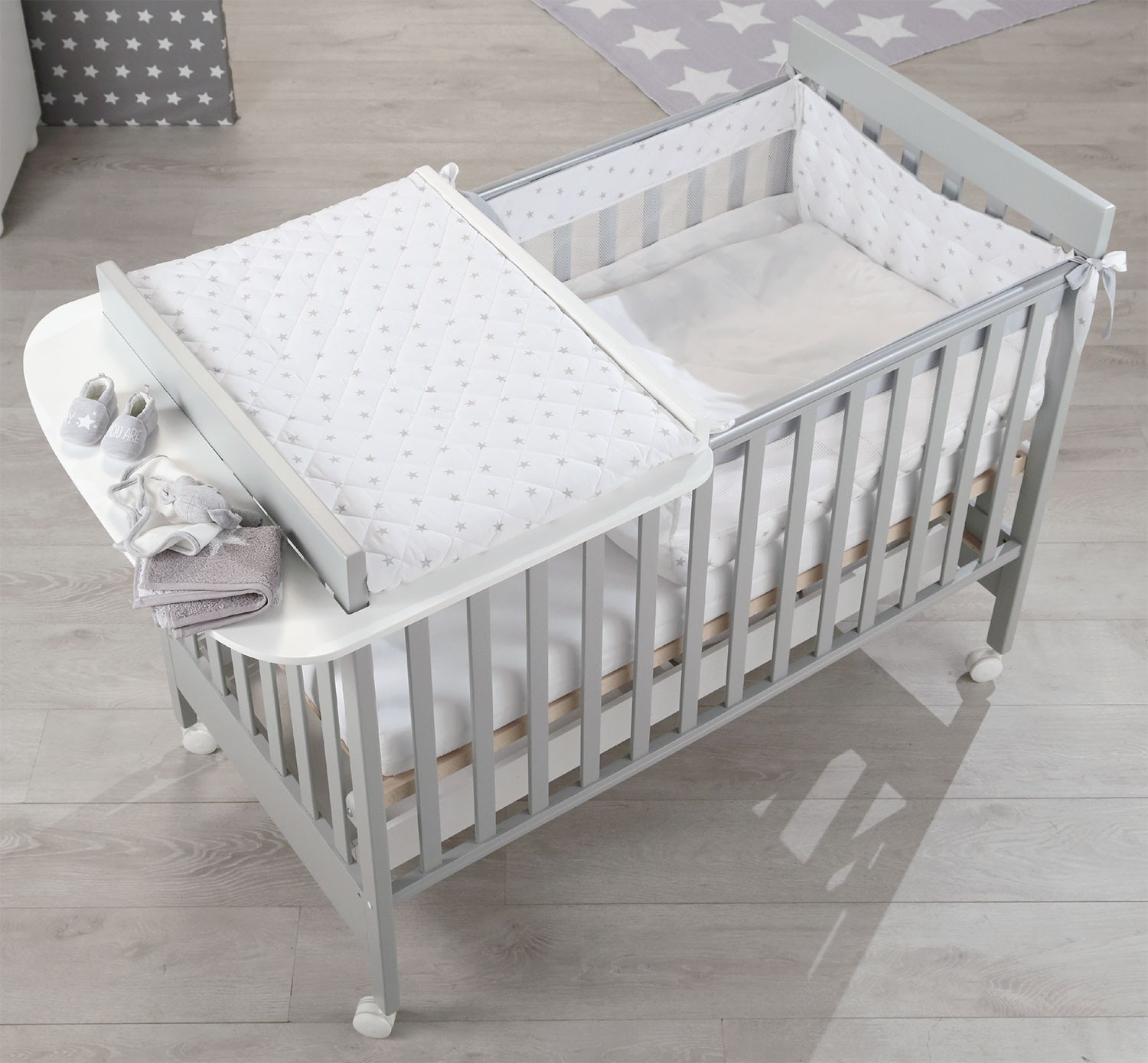 Kit à langer Baby Space Gris