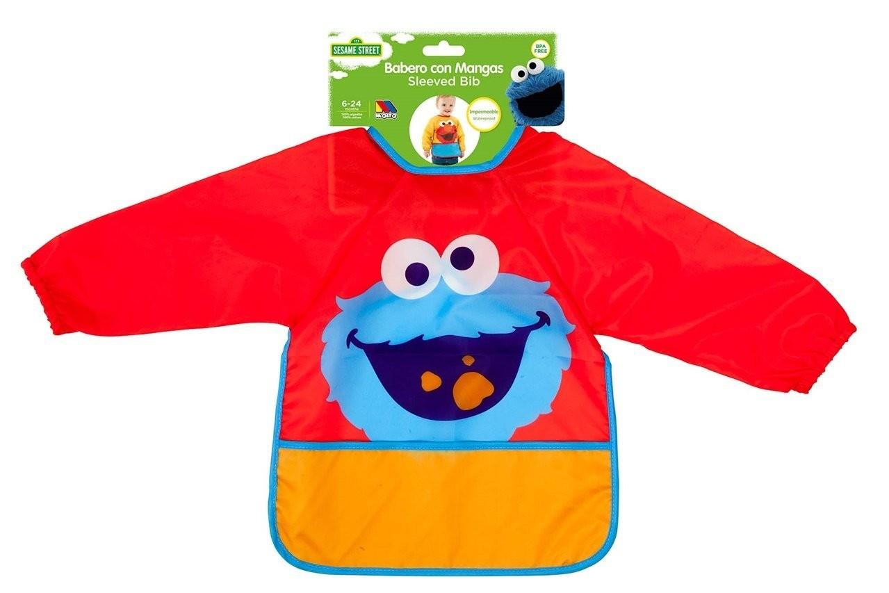Babero Pullover Sesame Street Rojo