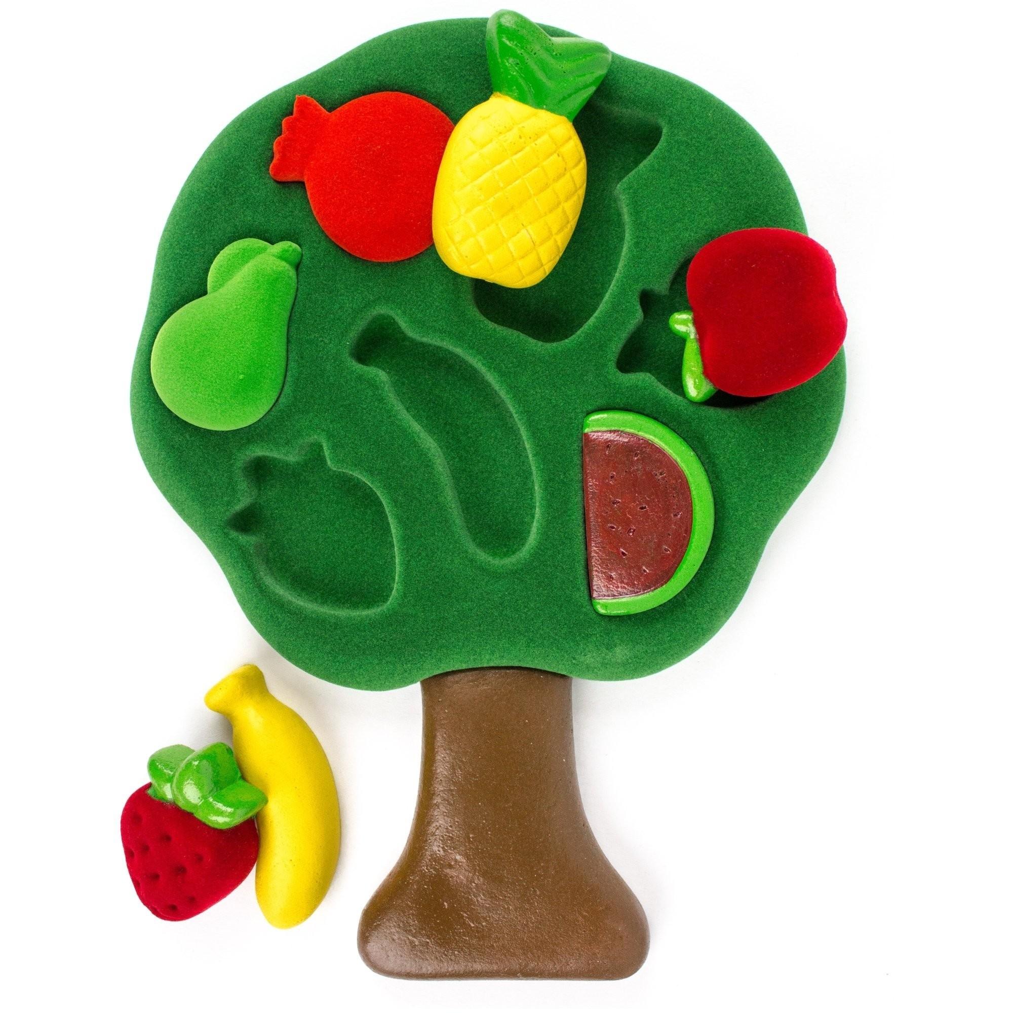 Puzzle educativo in 3D Rubbabu - Soft Touch Frutta