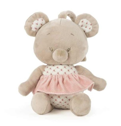 Peluche Musicale Mousy Rose