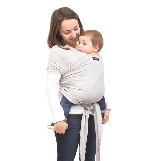 Babytragettuch Babywrap Grau