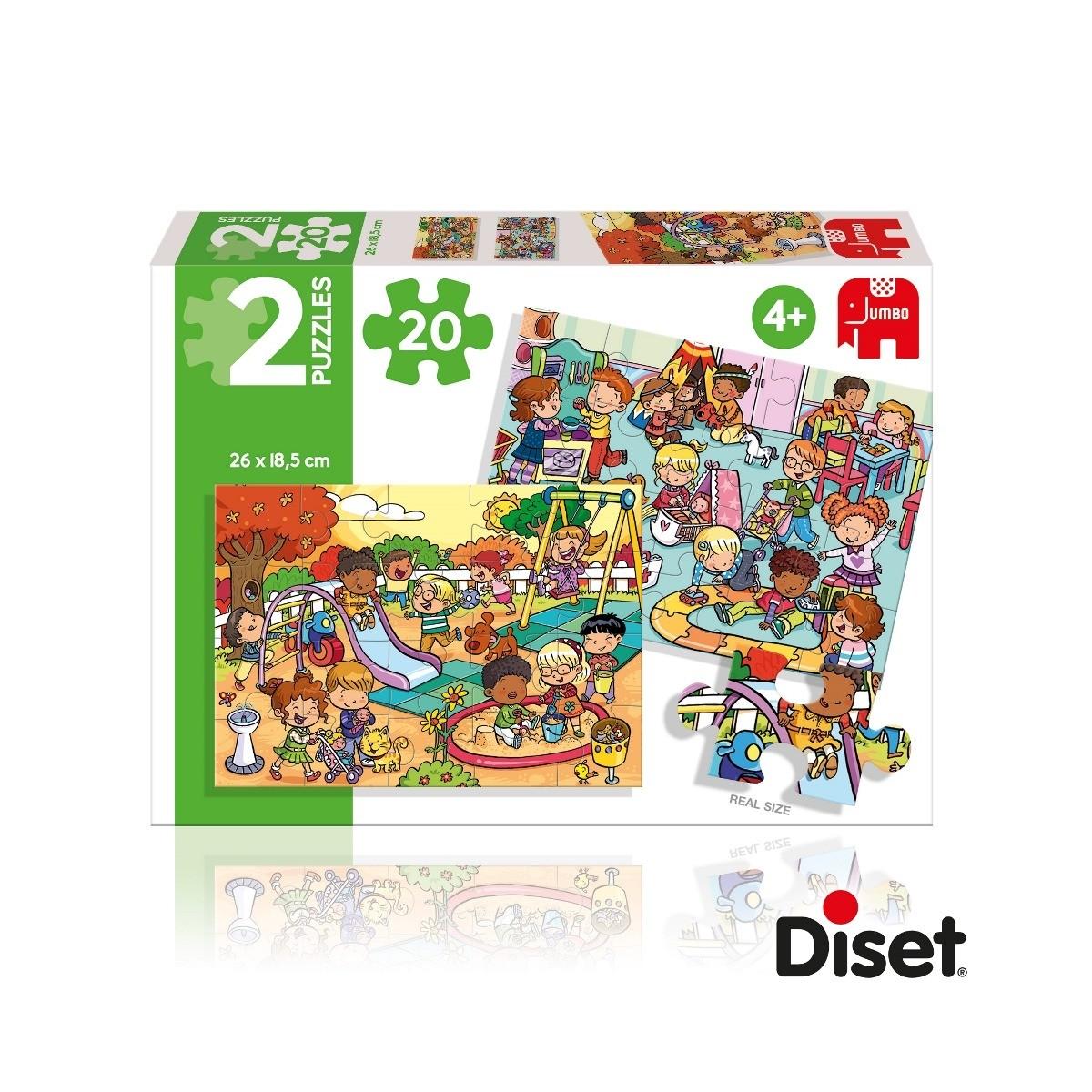 Puzzle pour Enfants - Parc de Loisirs