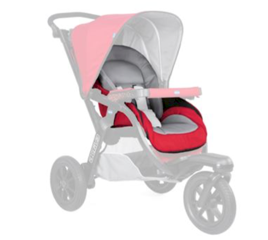 Fodera Passeggino Chicco Activ3 Red Berry