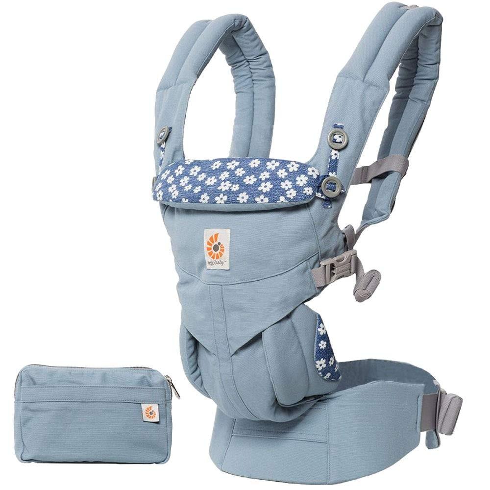 Babytrage Omni-360 Marguerite Blue