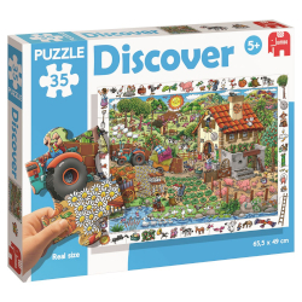 Puzzle Discover - Diset Fattoria