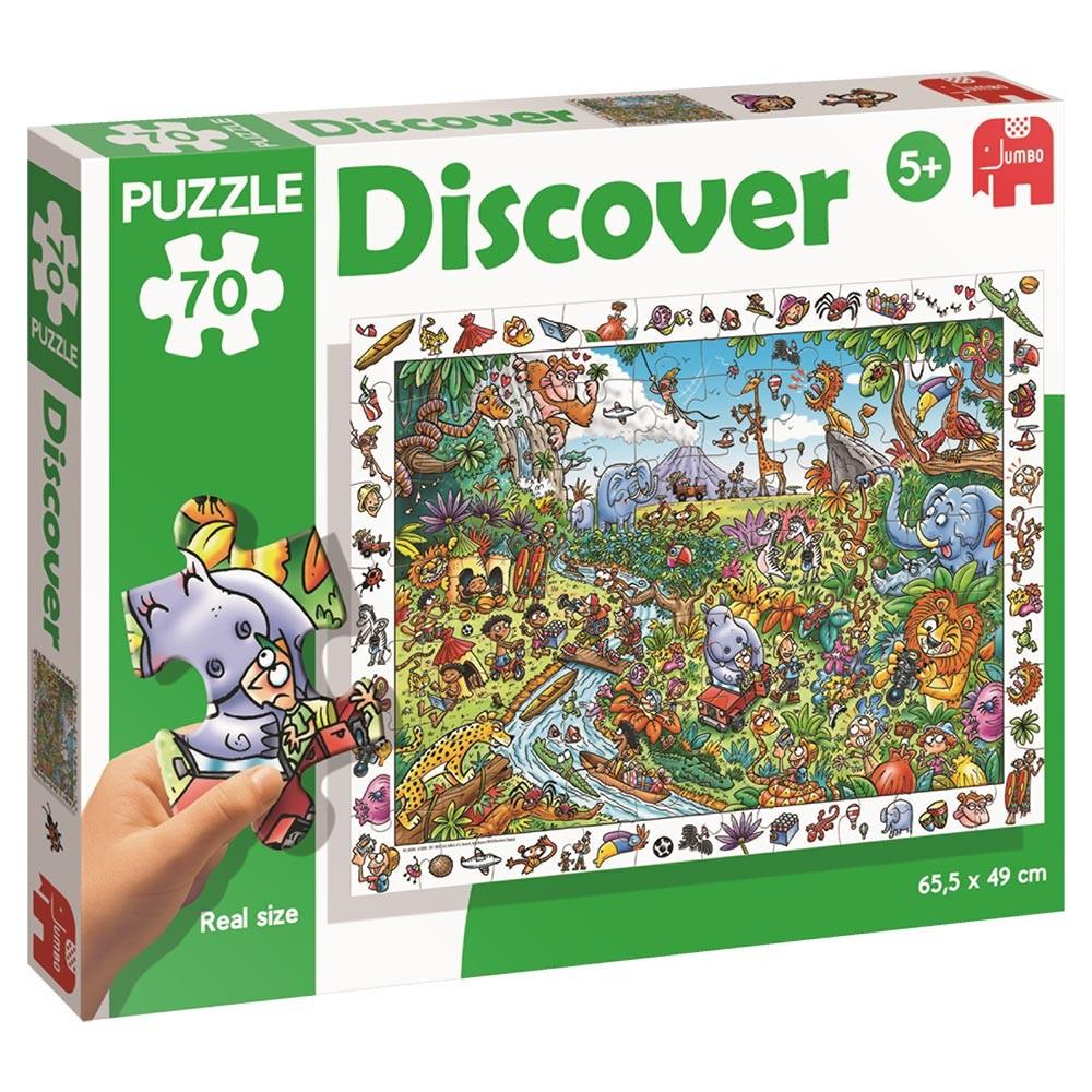 Puzzle Discover - Diset Giungla
