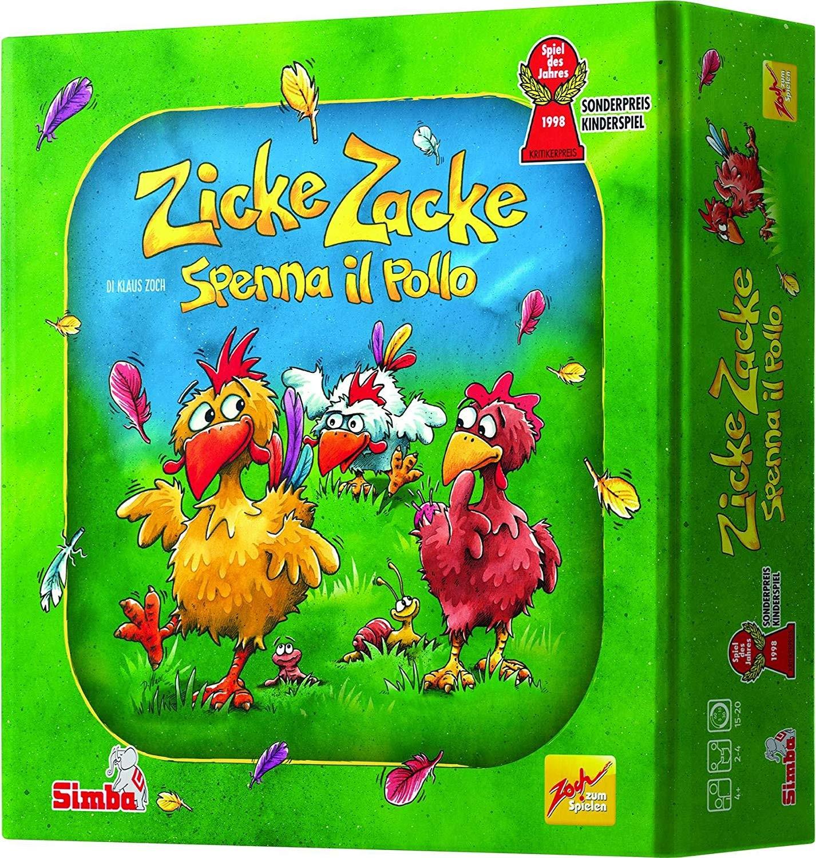 Gioco da Tavolo Zicke Zacke Spenna il Pollo