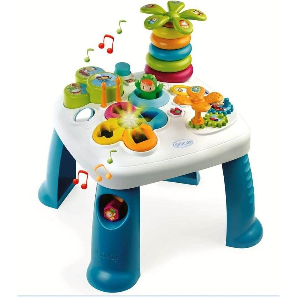 Smoby Cotoons Activity-Spieltisch Blau