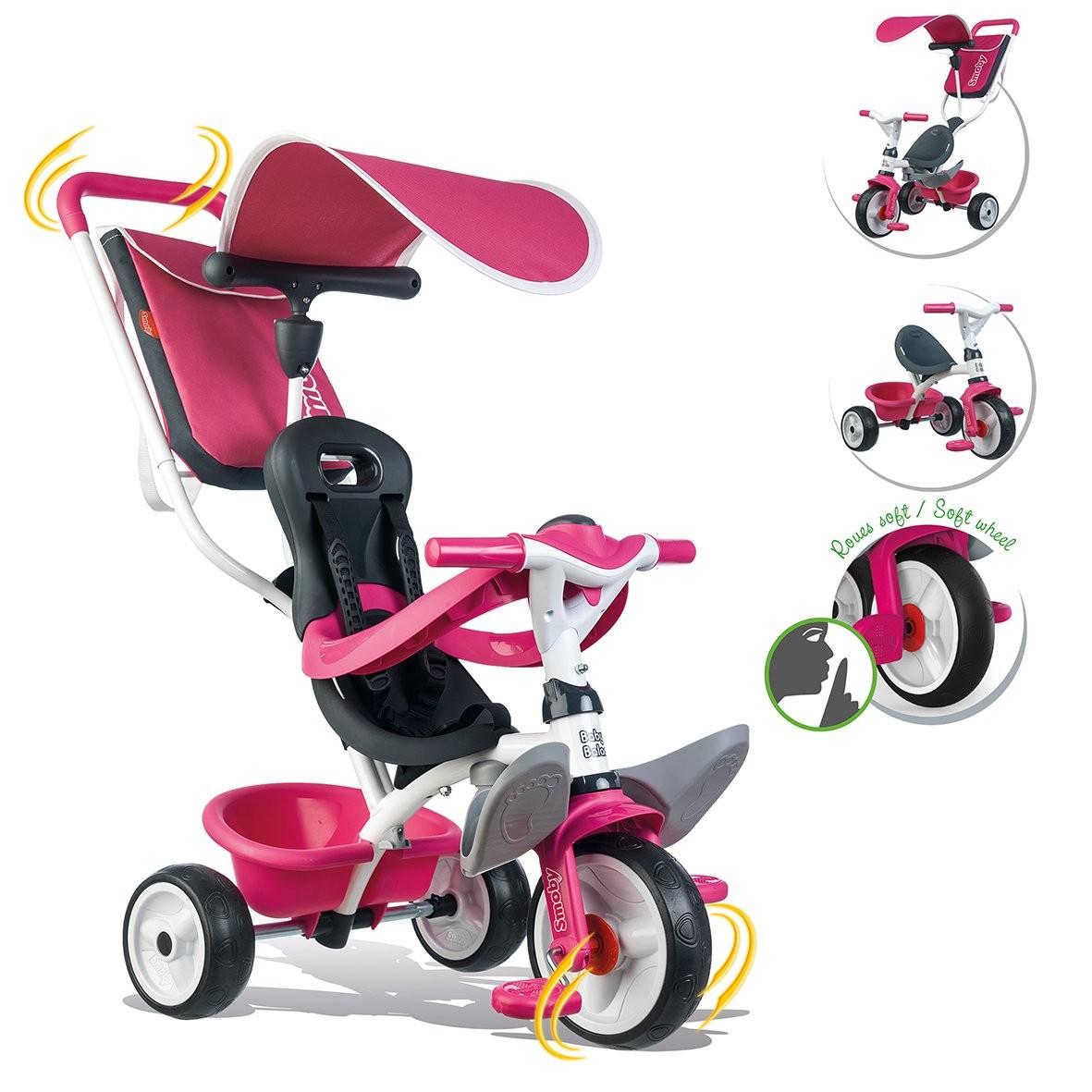 Triciclo Baby Balade Girl Smoby
