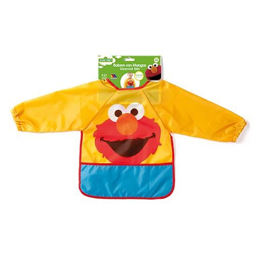 Babero Pullover Sesame Street Amarillo