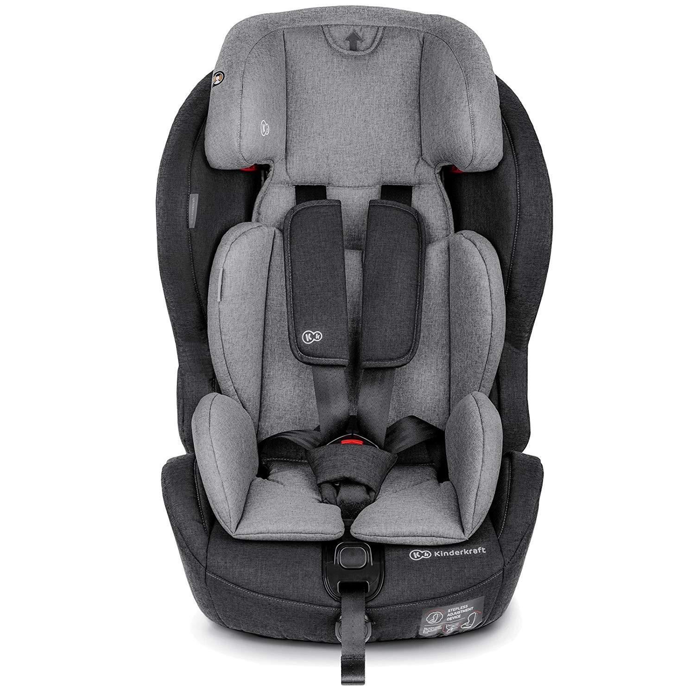 Kinderkraft Siège-Auto Safety Fix Gris/Noir
