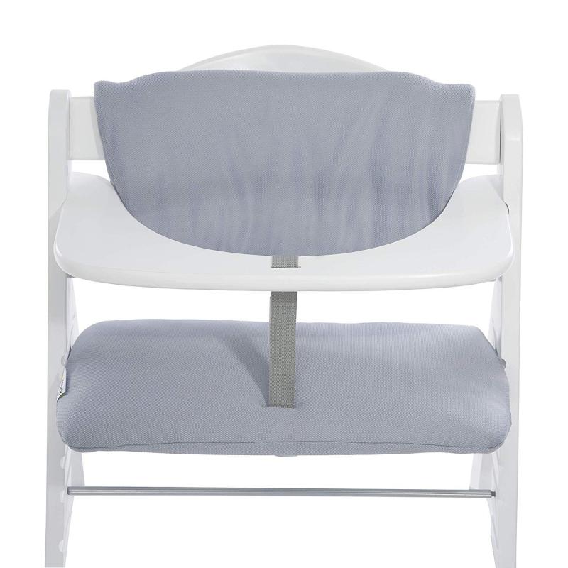 Coussin d'assise chaise haute Multi Stretch Grey