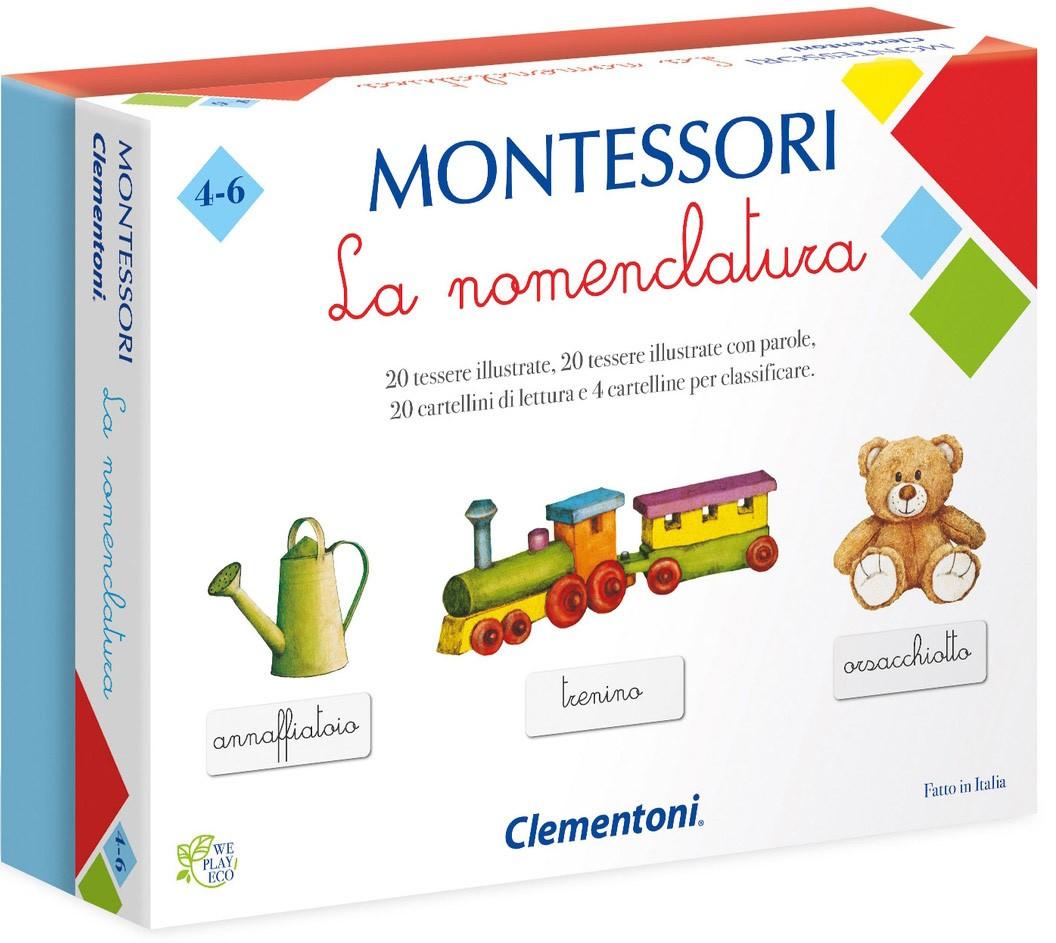 La Nomenclatura - Gioco Montessori