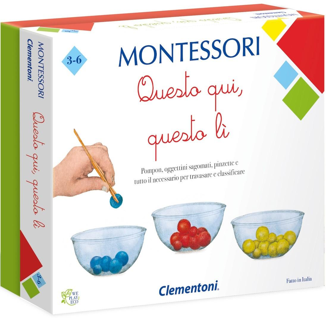 Questo qui, quello li - Gioco Montessori